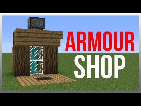 Minecraft 1.12: Redstone Tutorial - Armour Shop!