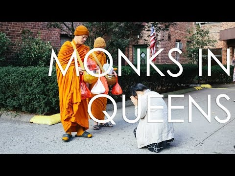 Buddhist Monks in Queens