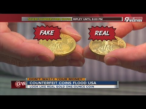 Counterfeit gold coins flood U.S.