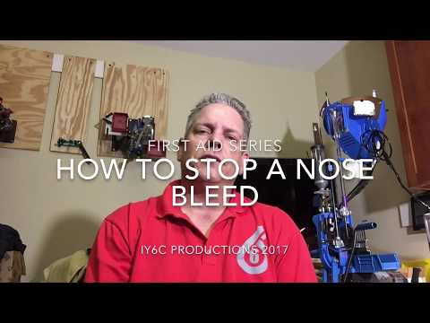 How To Stop A Nose Bleed
