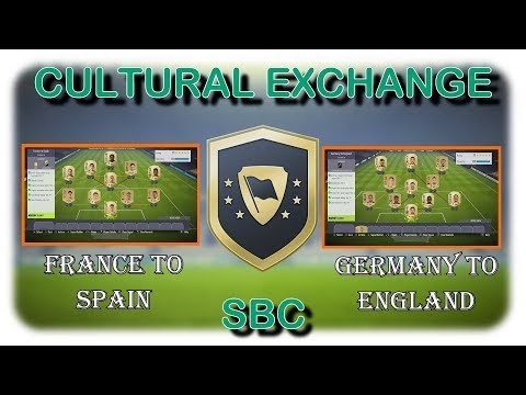 FIFA 18 / CULTURAL EXCHANGE SBC / FRANCE TO SPAIN + GERMANY TO ENGLAND (CHEAP+EASY)