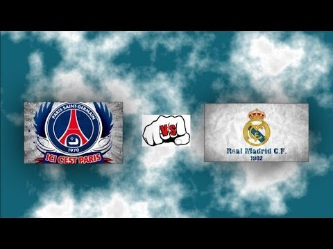 Fifa 14 EA Cup saisprezecimi PSG vs Real Madrid