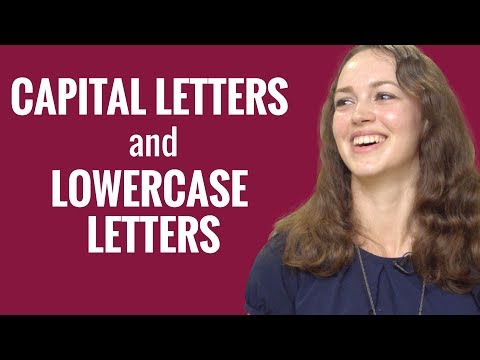 Ask a Norwegian Teacher - Capital Letters and Lowercase Letters