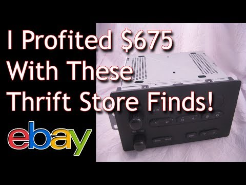 Thrift Store Finds that Sold on Ebay - Fulltime Family RV - Dorky Thrifters - What to Sell on ebay