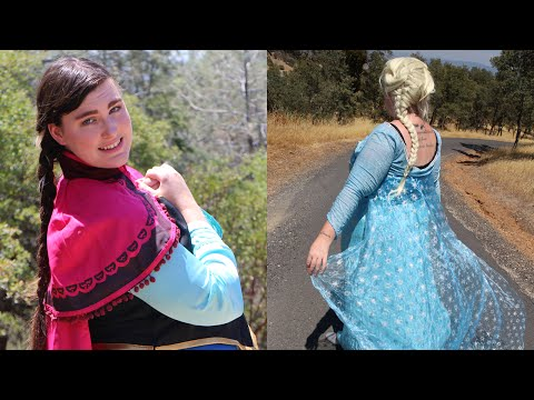 Siblings Cosplay! - Anna and Elsa from Frozen