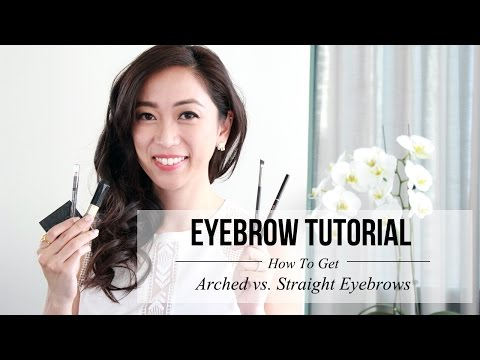 Eyebrow Tutorial - Arched & Straight Eyebrows | LookMazing