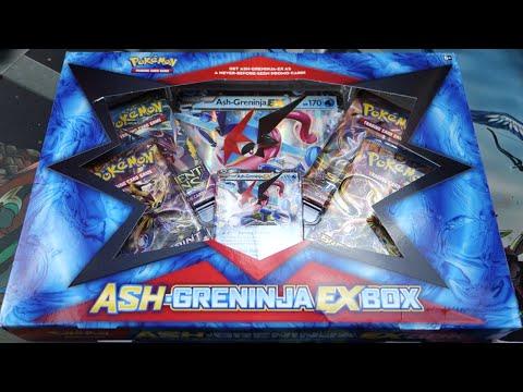 Opening the BEST EARLY Ash-Greninja-EX Box!