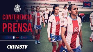 EN VIVO: Conferencia de prensa | Ramón Villa Zevallos | Postpartido | Chivas Femenil 0-1Xolos