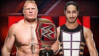 Brock Lesnar vs Mustafa Ali