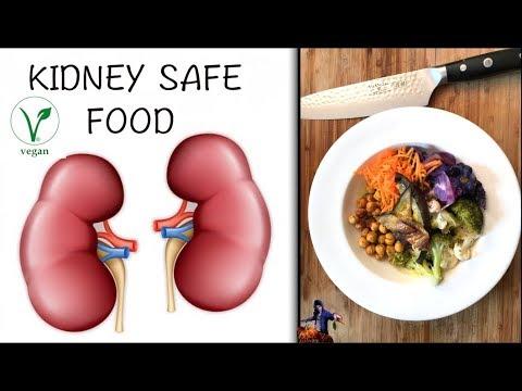 Kidney Safe Food - What to Eat on Dialysis (VEGAN)