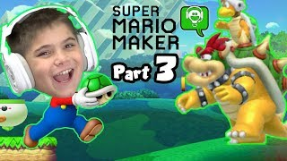 10 Mario Maker Part 3 Challenge by HobbyKidsGaming