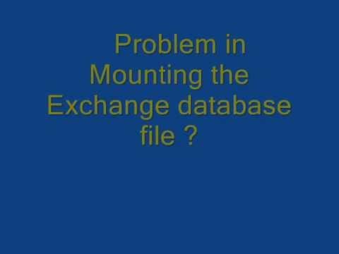 Know how to solve Exchange Server Error
