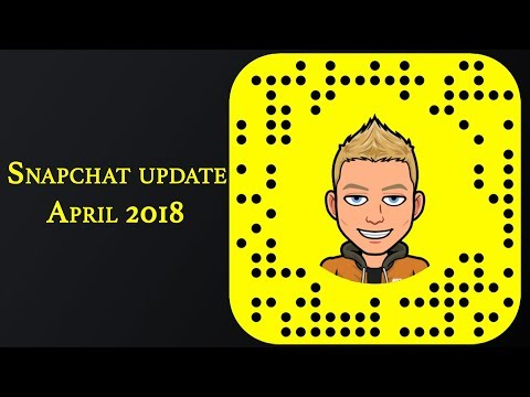 Snapchat Update - 10.30.1.1 , 141.9MB (Video chat 16 people, @ friends, home screen)