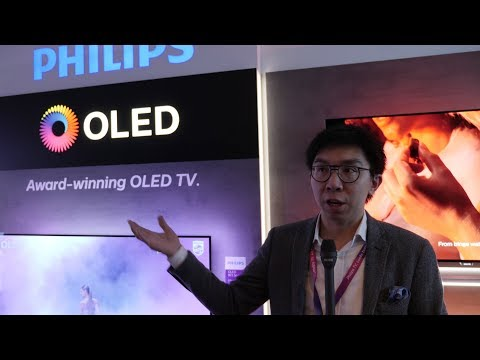 Philips Launch 2018 OLED TV (803, 873 & 973) with HDR10+ & Ambilight