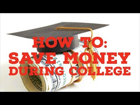 HOW TO SAVE MONEY IN COLLEGE: Investing in college years :How to have money to invest during college