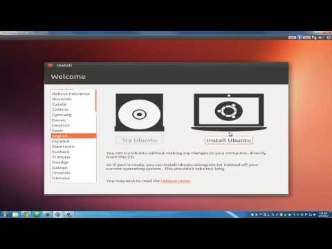 Install Ubuntu Linux on VirtualBox in Windows 7
