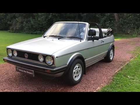 1980 Volkswagen Golf 1.8L GLi Mk1 Series 1 Convertible.