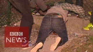 Calais migrants crisis: Inside