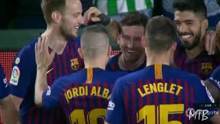 The Crazy Reactions on Messi's Hat-trick Goal vs Betis