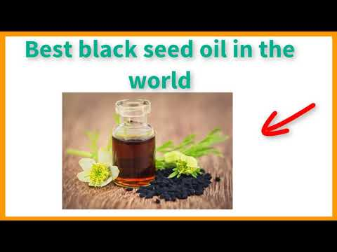 Best black seed oil in the world | Be Healthy