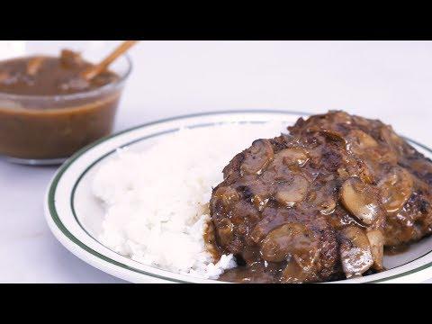 Burger Steak with Gravy Recipe | Yummy Ph
