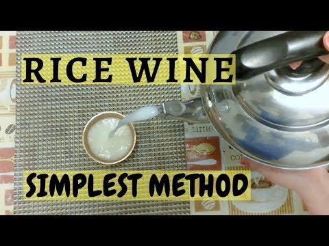How to make rice wine, easy steps to Newari Rice wine 米酒