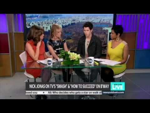 NBC NY:Nick Jonas Stars in Broadway's How to Succeed