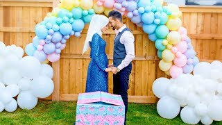 OUR OFFICIAL BABY GENDER REVEAL