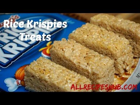 Rice Krispies Treats | How to make Rice Krispie Treats