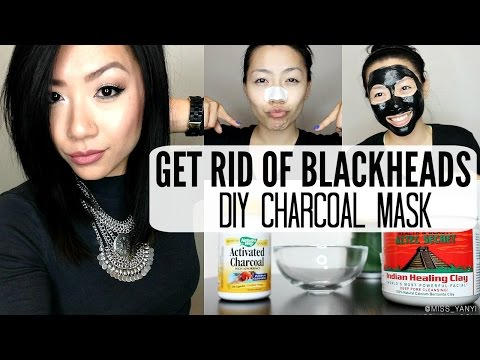 How To Get Rid of Blackheads Fast at Home | DIY Charcoal Mask