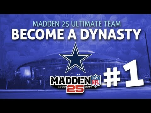 Madden 25 Ultimate Team - Picking a Captain + 50 Pack Bundle Opening Episode 1