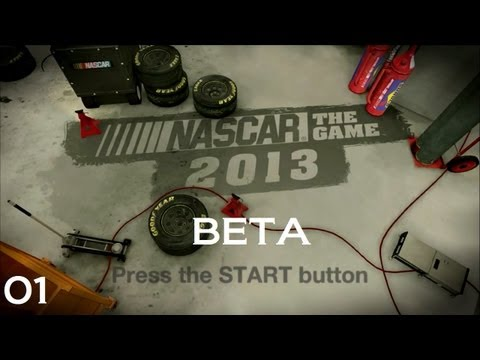 NASCAR the Game 2013 : PC / Steam Beta Release : E01 : Daytona as Tony Stewart (HD / Commentary)