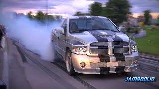 Dodge Ram SRT-10 - Mean V10 Sound, Even Meaner Burnout!