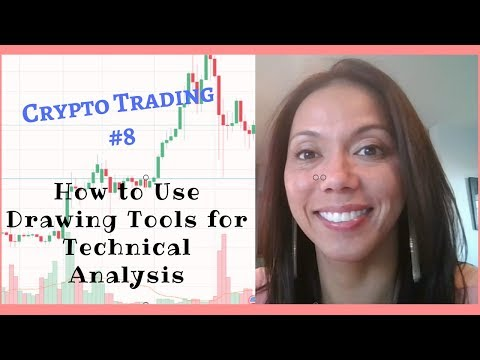 Crypto Trading #8 - How to Use Technical Analysis Drawing Tools On Trading View - JB Trader