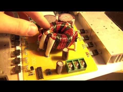 DIY 4CH Car audio amplifier 500W SMPS + LM3886