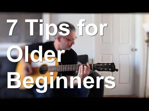 7 Tips for Older Beginners | Tom Strahle | Pro Guitar Secrets