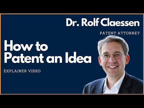 How to Patent an Idea #patent