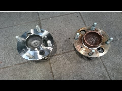 Rear wheel bearing-How to replace a Mk 7 ford fiesta 2008 to 2012