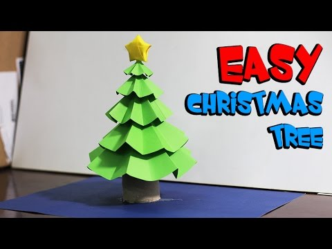 Kids Life hacks with toilet paper rolls & straw - How to make christmas tree