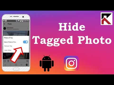 How To Hide A Photo You've Been Tagged In Instagram Android 2018