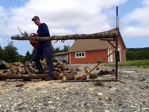 Log holder fast firewood