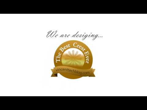 Create Golden Crest Logo in Photoshop CS6 - 2017