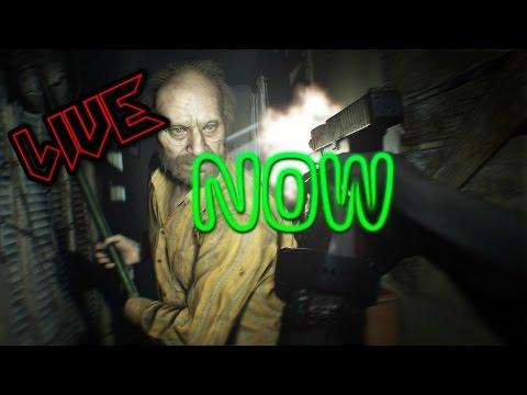 Resident Evil 7 (LiveStram) Restarting :(