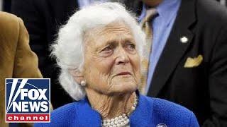Former first lady Barbara Bush in