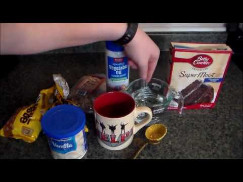 Easiest Mug Cake Ever!!! (Only 2 Ingredients!)
