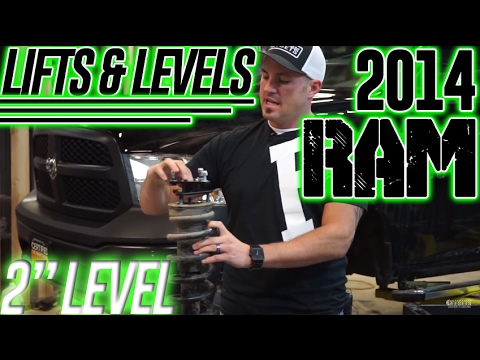 Lifts & Levels: 2014 Ram 1500, 2