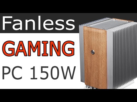 Luxury Fanless Gaming PC (SFF, ITX)