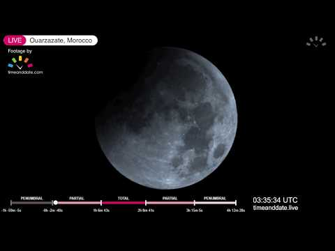 January 2019 Total Lunar Eclipse Live Part 2 (Main)