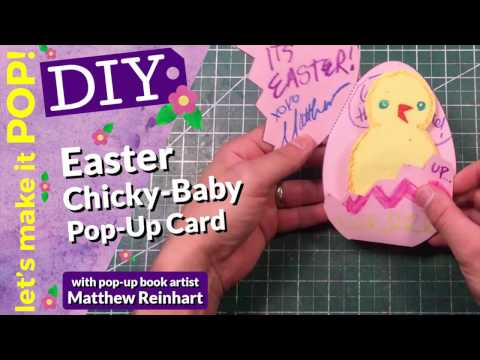Let's Make it Pop! Easter Chicky-Baby Pop-up Card