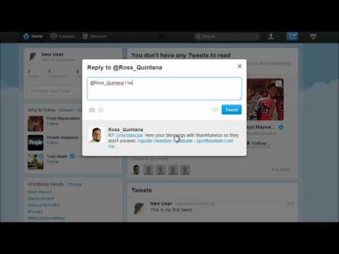 Twitter Tutorial 2 - The Basics How To Tweet, Reply and Follow - Social Magnets